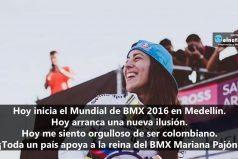 Hoy inicia el Mundial de BMX 2016 en Medellín