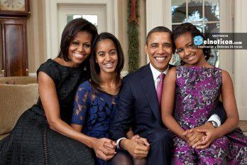 La niña que llora porque Barack Obama deja de ser presidente
