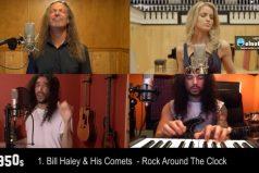 Mira la evolución del rock en 60 años ¡Un video maravilloso!