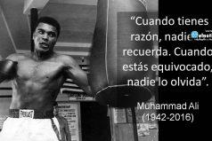 Lo que nos deja Muhammad Ali…