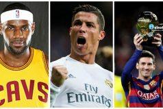 Estos son los 10 deportistas mejor pagados en 2016