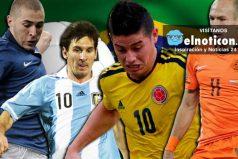 Los 10 mejores futbolistas de la historia ¿Encontraremos algún colombiano? ¿Crees que falta alguien?