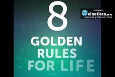8 golden rules for life