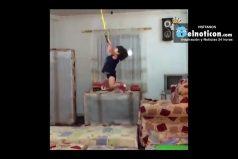 Arat The 2-Year-Old Acrobat