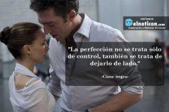 """""""La perfección no se trata sólo de control, también se trata de dejarlo de lado."""""""