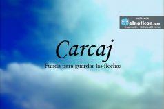 Definición de Carcaj