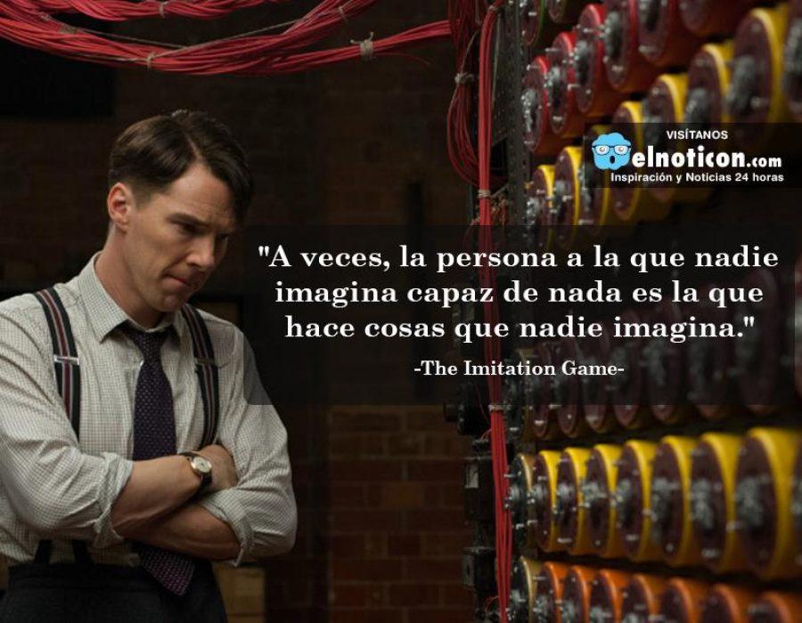 """""""A veces, la persona a la que nadie imagina capaz de nada…"""