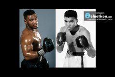 At age 14 Tyson saw Ali's last match, which Holmes won…