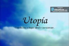 Definición de Utopía