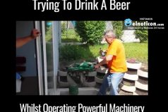 How To Fail At Drinking A Beer