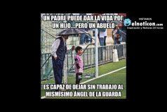 Un padre puede dar la vida por un hijo…