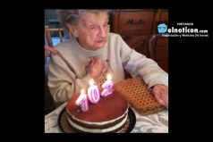 102 YEARS OLD AND STILL HAPPY