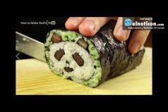 How to make beautiful sushi that looks like a panda