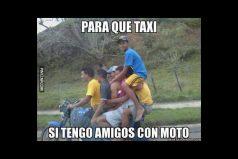 Para que taxi…