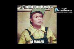 ¿De donde son los Mayas?