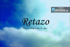 Definición de Retazo