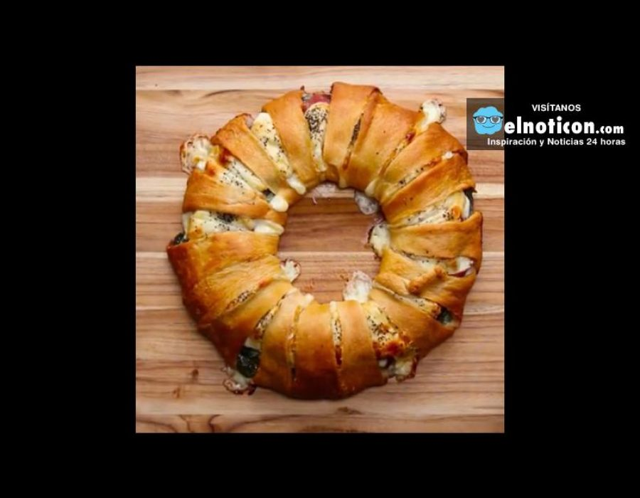 Baked Ham And Cheese Ring