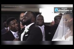People are in love with this groom's reaction to seeing his bride walk down the aisle