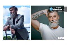 Conoce al hombre de 60 años que se dejó la barba y se convirtió en modelo