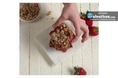 Strawberry Oatmeal Bars!