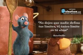 """""""No dejes que nadie defina tus límites, el único límite es tu alma"""""""