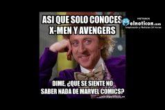 Así que solo conoces X-Men y Avengers