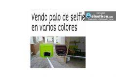 Vendo palos de selfie en varios colores