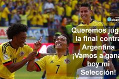 Esta noche queremos celebrar nuestro triunfo ante Chile