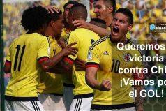 ¡Amamos nuestra selección! Vamos a ganar contra Chile