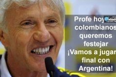¡HOY LE GANAMOS A CHILE! Todos los colombianos estamos con Pékerman