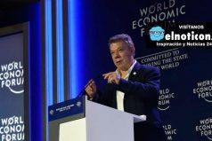 """""""Los Clinton han sido grandes aliados para Colombia"""", Juan Manuel Santos"""