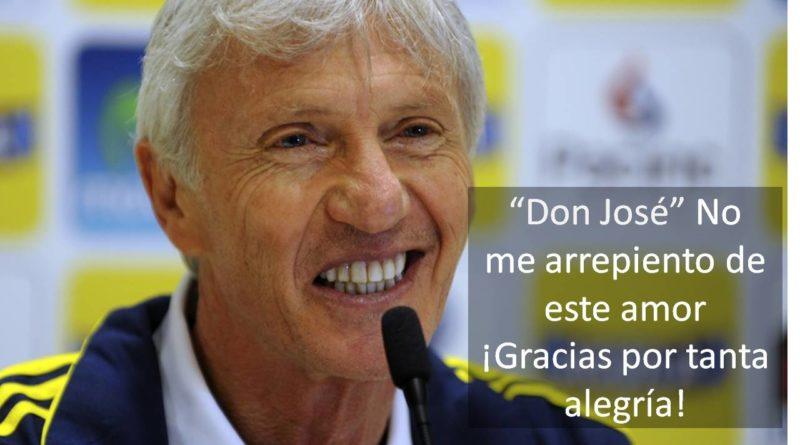 """Don José"" Pékerman"