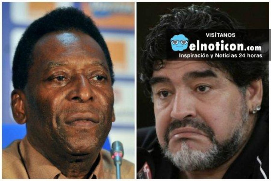 ¿Cuál te gusta más Pelé o Maradona? ¡Razones de peso para amar los dos!