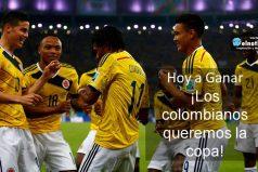 ¡Los colombianos queremos la copa!