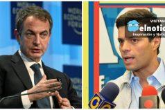 Lo que dejo la visita de José Luis Zapatero al líder opositor Leopoldo López