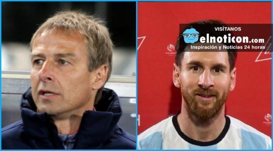 El reto más importante del entrenador de Estados Unidos Jurgen Klinsmann, vencer a Argentina
