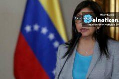 """Delcy Rodríguez: """"Fue derrotada la Carta Democrática en la OEA"""""""