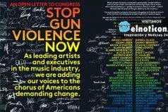 La carta de Katy Perry, Britney Spears, Alicia Keys, Demi Lovato y 150 artistas más exigen un control de armas