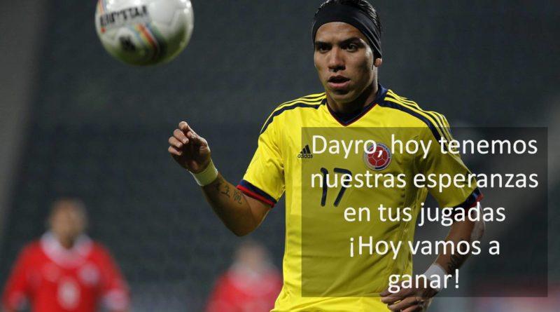 Apoyamos a Dayro Moreno