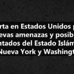 Estado Islámico amenaza a Estados Unidos con más atentados
