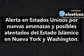 Estado Islámico amenaza a Estados Unidos con nuevos atentados