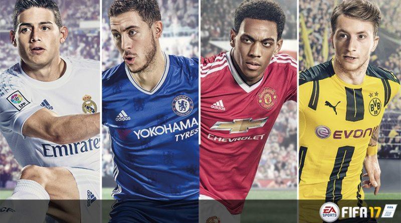 James Rodríguez estará en la portada de FIFA 17