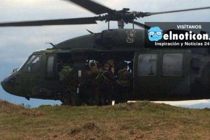 Encuentran helicóptero desparecido del Ejército Nacional