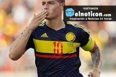 Aficionada le roba un beso a James Rodríguez después del partido contra Paraguay ¡Harías lo que fuera por un beso del '10'!