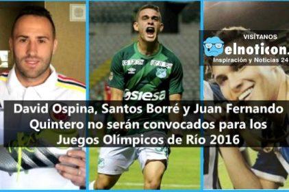 ¿Estás de acuerdo con que estos tres jugadores no vayan a los Juegos Olímpicos?