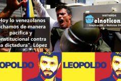 El mensaje que envió Leopoldo López desde la cárcel al pueblo venezolano