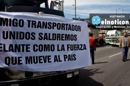 Los camioneros se suman al paro nacional