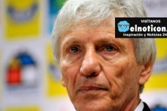 José Pékerman llegó a Colombia para preparar partido amistoso ante Brasil