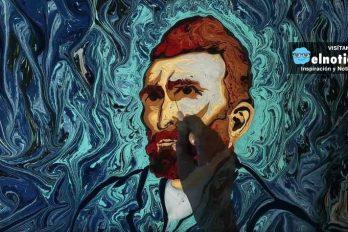 Recrean cuadros de Van Gogh sobre agua ¡El resultado es hermoso, tienes que verlo!