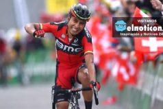 Rugue  'El Puma' Atapuma, ganó la etapa 5 del Tour de Suiza ¡Orgullo colombiano!